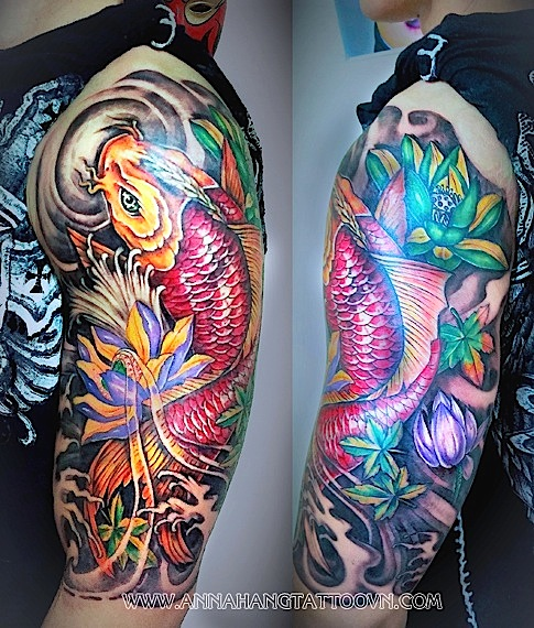 Half Sleeve Gallery Anna Hang Tattoo
