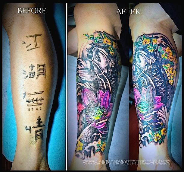 Cover Up Gallery Anna Hang Tattoo